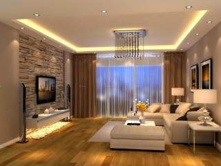 Gypsum ceiling- gypsum wall/TV unit modern designs,