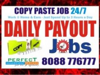 Daily payment Data Entry Job Near me | Copy paste Job Near Me |