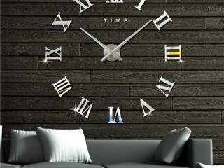 Wall hanging, paint art, Wall stickers, DIY Clocks