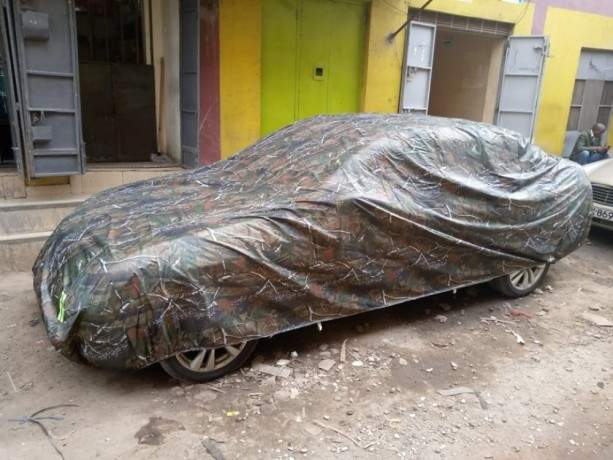jungle-green-all-weather-waterproof-outdoor-dust-sun-and-rain-protective-car-covers-with-full-cotton-non-scratch-inner-lining-big-2