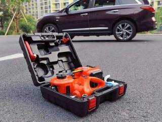 5 Ton Electric Car Jack, Air Pump, Impact and Wrench