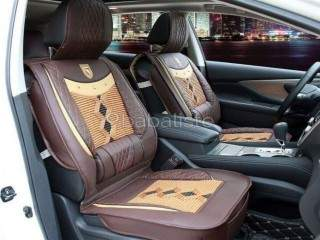 VIP Synthetic Leather with Silk Clip-On Car Seat Covers