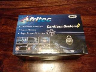 R Alarm System with Cut-Out + Installation/Fitting