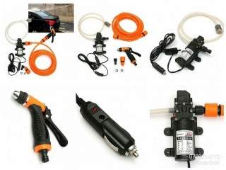 12V Electric High Pressure Car Washer Pump with Hard Carry Case