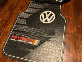 VW Branded Heavy Duty Full Rubber Car Floor Mats (5pcs Set)